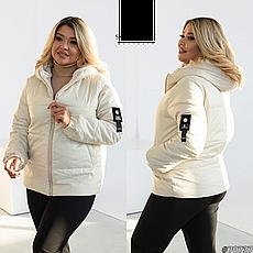 Куртка жіноча демісезонна розміри 48-62, фото 3