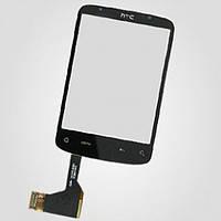 Тачскрин (сенсор) HTC Wildfire A3333 G8 без микросхемы черный