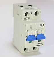 """Автоматический выключатель, хар-ка """"C"""", 2 пол, 6А, 4, 5кА Schrack"""