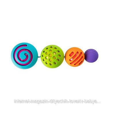 Игрушка-сортер сенсорная Сферы Омби Fat Brain Toys Oombee Ball  (F230ML)