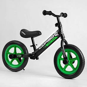 """Велобіг від Corso 08715 сталева рама, колесо 12"""" EVA (ПІНА)"""