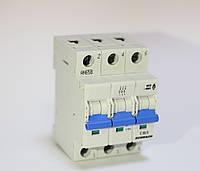 """Автоматический выключатель, хар-ка """"C"""", 3 пол, 50А, 4, 5кА Schrack"""