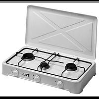Плита газовая настольная 3 х конфорочная ST 63-010-11