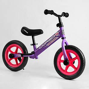 """Велобіг від Corso 04301 сталева рама, колесо 12"""" EVA (ПІНА)"""