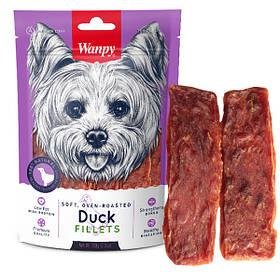 Лакомство с уткой Wanpy Soft Duck Fillets для собак, 100 г