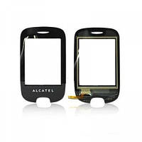 Тачскрин (сенсор) Alcatel OT602 черный