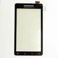Тачскрин (сенсор) Motorola A953 Milestone 2, A955 Droid 2 черный