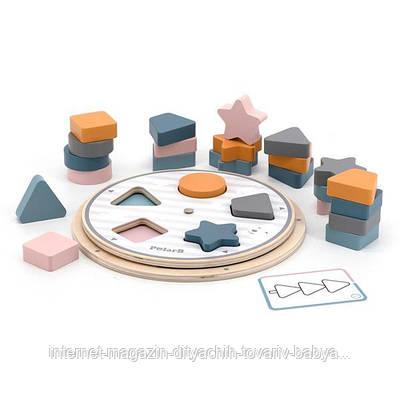 Деревянная игра-сортер Viga Toys PolarB Фигуры (44050)