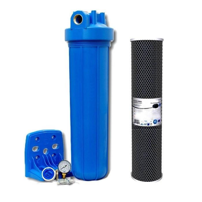 Фільтр магістральний від хлору Aquafilter FH20B1-B-WB20 дюймів