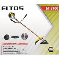 Коса бензиновая ELTOS БГ-3700 (3700Вт 3 ножа в комплекте)