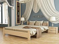 Кровать из дерева Афина из щита