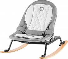 Дитяче крісло-гойдалка Lionelo ROSA GREY/BLACK