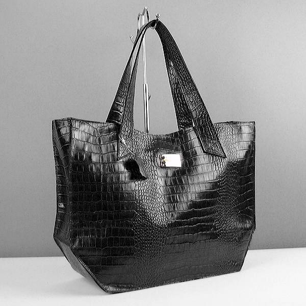866d4820b263 Черная женская кожаная сумка Viladi - Интернет магазин сумок SUMKOFF -  женские и мужские сумки,