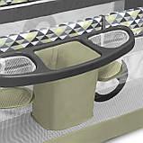Кроватка-манеж Lionelo SVEN PLUS GREEN OLIVE, фото 5