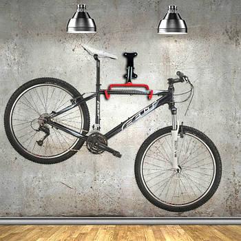 Тримач для велосипеда  / велосипедна підвіса Eurorover на стіну 2 гачки