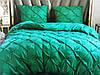 Сатиновое постельное белье двуспальное (однотонное - текстурное)