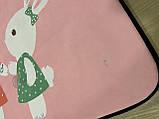 Бесплатная доставка! С небольшим дефектом!Ковер в детскую «Бабл гам» утепленный коврик мат (1.5*2 м), фото 4