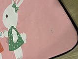 Безкоштовна доставка! З невеликим дефектом!Килим в дитячу «Бабл гам» утеплений килимок мат (1.5*2 м), фото 4
