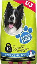 EuroDog ЕвроДог сухий корм для собак зі смаком курки 10 кг