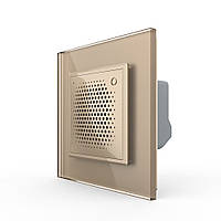 Дверной звонок сирена ZigBee золото Livolo (VL-C7-FCBZ-2AP)