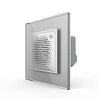 Дверной звонок сирена ZigBee серый Livolo (VL-C7-FCBZ-2IP)