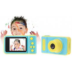 Дитячий цифровий фотоапарат Smart Kids Camera V7 Синій