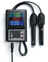 Стационарный комбинированный монитор РН-260BD pH, EC, TDS, Temp- метр  для аквариума (Bluetooth)