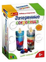 """Гелевые свечи """"Затерянные сокровища"""" ТМ Ranok-Creative"""