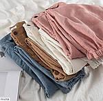 Женские вельветовые джогеры с карманами 42-44, 44-46, молоко, мокко, джинс, фрез, фото 4