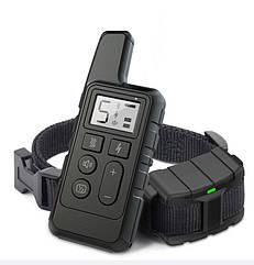 Электроошейник для собак дрессировочный Pet DTC-500 водонепроницаемый, дальность до 500 метров, черный