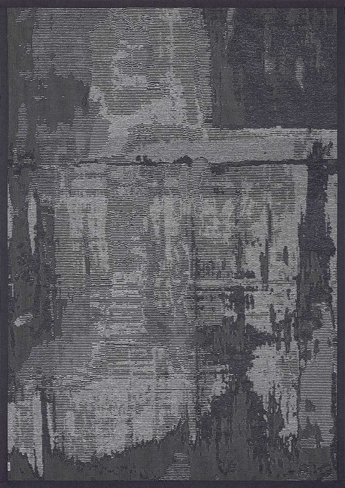 Килим двосторонній Nedrema 100х160 см Темно-сірий