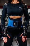 Пояс-корсет для підтримки спини ONHILLSPORT (чорно-синій), фото 5