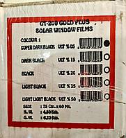 Пленка Тонировочная Premium 200 мкр Guard 75 cм 3 метра ,SDBK 5% пленка для тонировки стекол. Антицарапка, фото 1