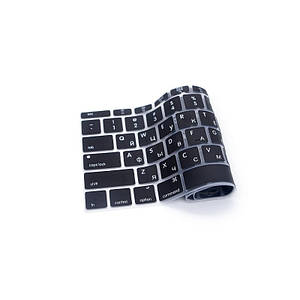 Накладка на клавиатуру Keyboard Guard For Macbook 12/Pro 13 (A1708) Black