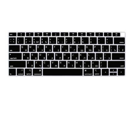 "Накладка на клавіатуру Keyboard Guard For MacBook Air 13"" (2018-2019) Black, фото 2"