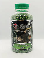 Родентицид Смерть гризунів зерно з ароматом арахісу 250 г, Агромакси