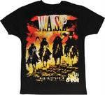 "Рок-футболка WASP ""Babylon"", фото 1"