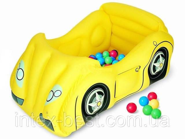 Детский надувной игровой центр Intex 52129Y Желтый