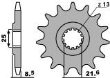 TOURMAX РЕМОНТНИЙ КОМПЛЕКТ ПЕРЕДНЬОЇ ПІДВІСКИ ( НА 1 перо - 46MM ) CR125 '97-'07, XR650R '00-'07, KX125/250