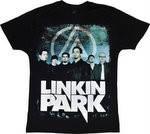 Рок-футболка Linkin Park  (фото группы)