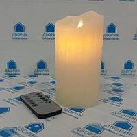 Свеча LED 75*150мм 2700K IP20 / LM36003 c пультом управления c эффектом пламени, фото 1