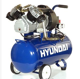 Компрессор двухцилиндровый Hyundai HY-2550 (350 л/мин, 50 л )