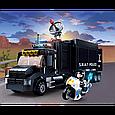 """Конструктор для детей Sluban M38-B0659 """"Полиция: Мобильный командный центр"""" (540 деталей), фото 7"""