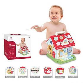 Інтерактивна розвиваюча іграшка «Будиночок» Sobebear YL 505-10