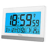 Часы настольные Technoline WS8056 White/Silver (WS8056)