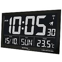 Часы настенные Technoline WS8007 Black (WS8007)