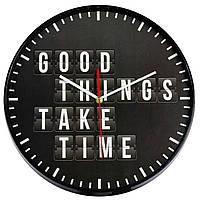 Годинники настінні Technoline 775485 Good Things Take Time (775485)