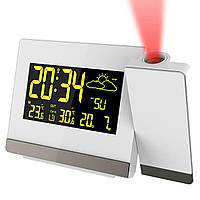 Часы проекционные Technoline WT549 White (WT549)