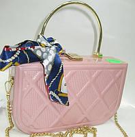 Женский праздничный клатч 21233 Pink Женские вечерние клатчи Праздничные клатчи на любой вкус