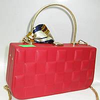 Женский праздничный клатч 28130 Red Женские вечерние клатчи Праздничные клатчи на любой вкус